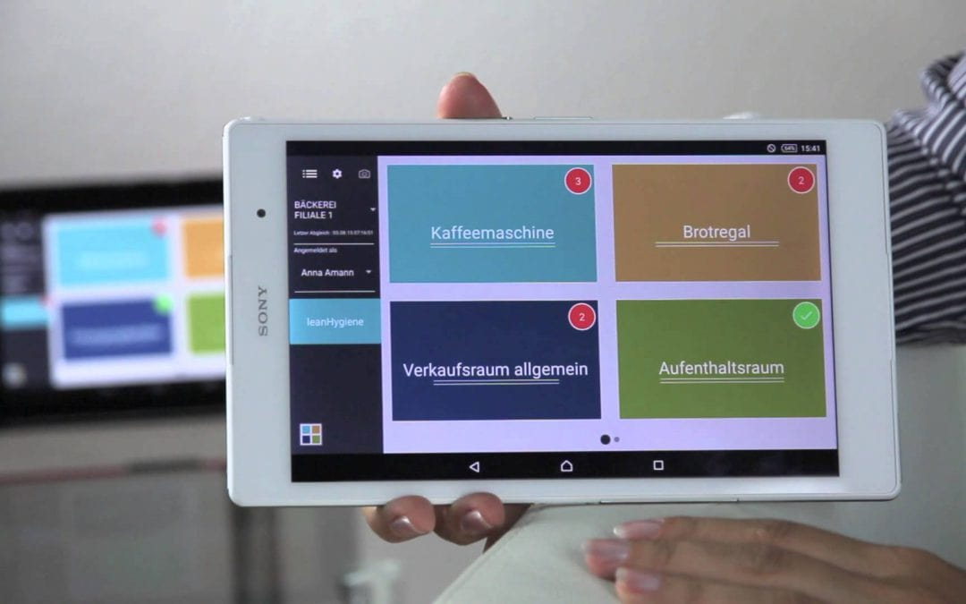 Die Hygiene-App: wir sind dabei!